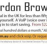 gordon brown ad