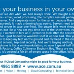 cloud computing ad copywriting and design