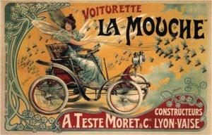 art nouveau example poster